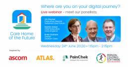 CHOTF Linked In banner for live webinar