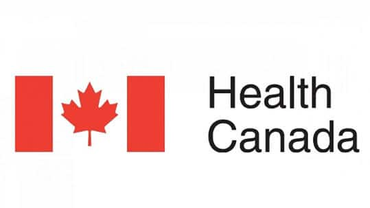 Canada Health Logo with writing Canada Health