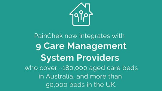 PainChek® expands integration partnerships with Care Management System providers