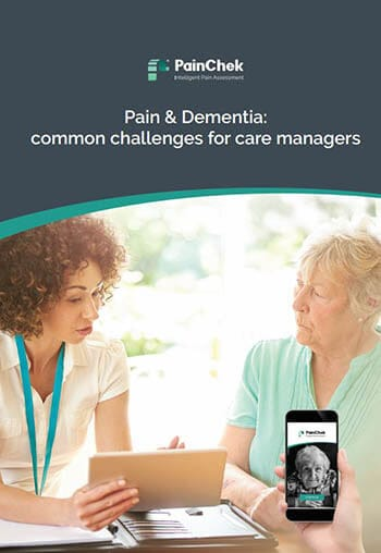 Aged care staff using PainChek